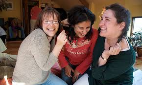 Happy Women after group session